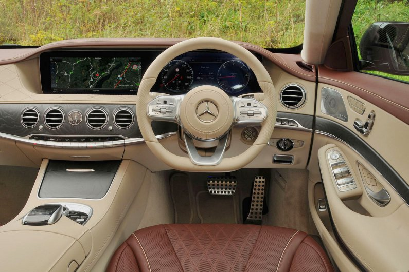 Đánh giá nội thất bên trong Mercedes-Benz S-Class