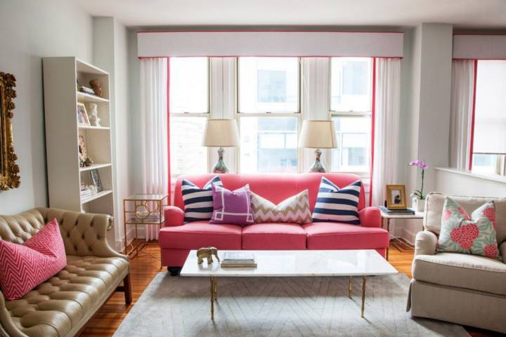 3 mẫu gối trang trí phòng khách cho sofa cực kỳ bắt mắt