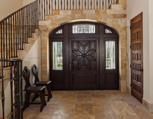 Thiết kế cửa chính đẹp theo luật Phong thủy