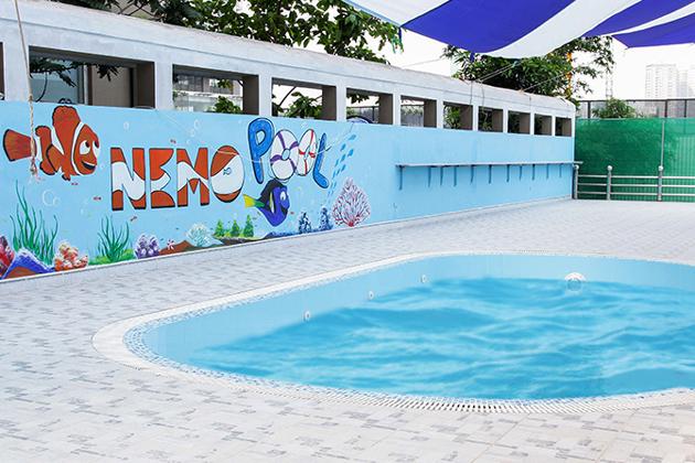 Một số bể bơi nước mặn ở Hà Nội