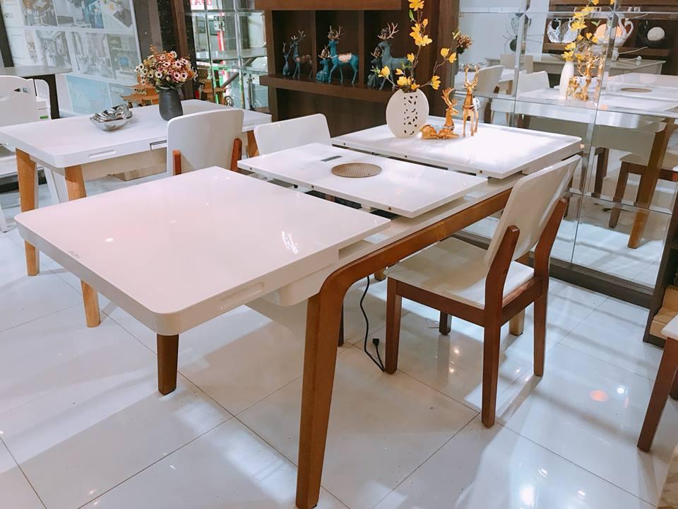 Gợi ý các loại bàn ăn thông minh giá rẻ cho bạn