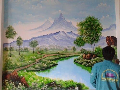 Ý nghĩa của vẽ tranh phong cảnh 3d cho ngôi nhà bạn là gì?