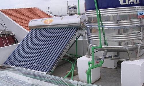 Các lỗi thường gặp khi sử dụng bình nước nóng năng lượng mặt trời