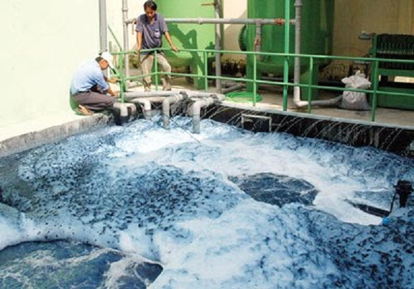 Xử lý nước thải nhà máy giấy