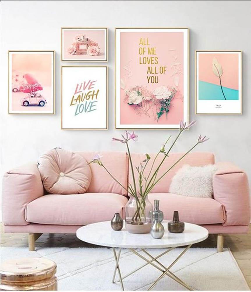 Ghế sofa văng mang phong cách nữ tính cho phòng khách