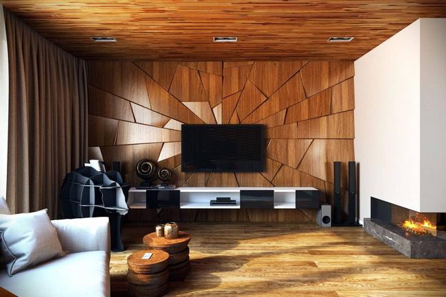 Lựa chọn ốp tường trong nhà cho các công trình ở Hà Nội