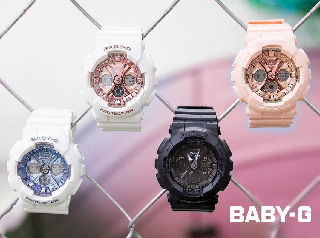 Top 4 mẫu đồng hồ Baby-G mới nhất được phái nữ ưa chuộng