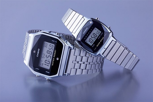 Hé lộ mẫu đồng hồ Casio dây kim loại được ưa chuộng nhất   hiện nay – A159WAD-1DF