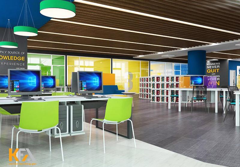 Xu hướng thiết kế nội thất văn phòng diện tích 60m2