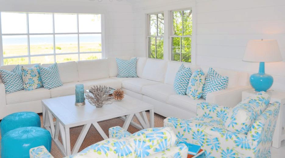 9 mẫu thiết kế phòng khách đơn giản mang phong cách thôn quê