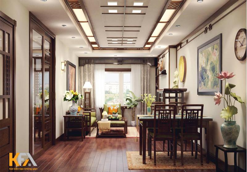 Thiết kế nội thất chung cư nên dùng gỗ công nghiệp hay gỗ tự nhiên