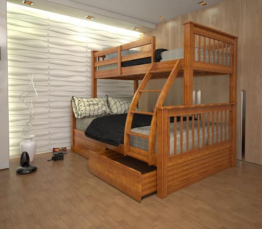 Nên mua giường hai tầng cho bé hay giường đơn?