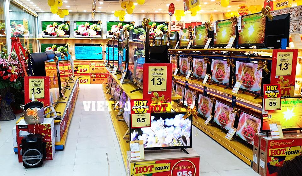 Thu hút khách hàng bằng kệ siêu thị