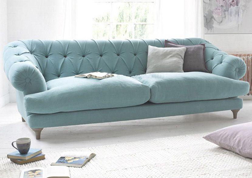 Lựa chọn kích thước ghế sofa dài cho phòng khách