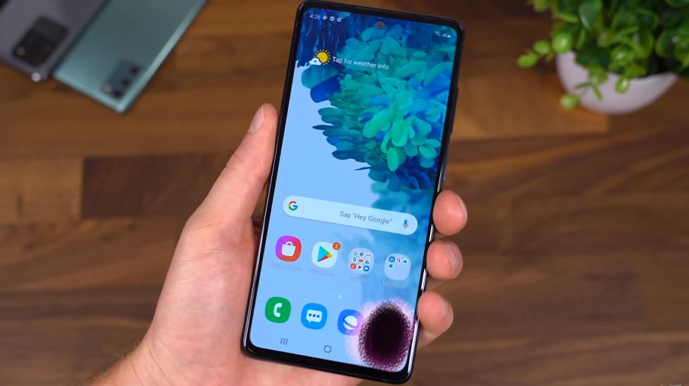 Hướng dẫn sửa lỗi màn hình Samsung S20 FE bị loang màu